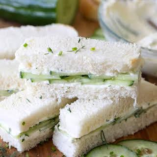 Low Calorie Cucumber Sandwiches Recipes.