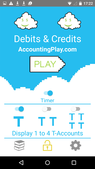 Debit and Credit - Accounting- screenshot