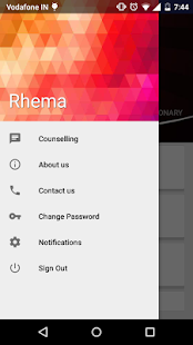 Rhema screenshot