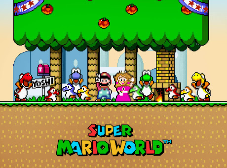 Super Mario World - Super Nintendo Emulator