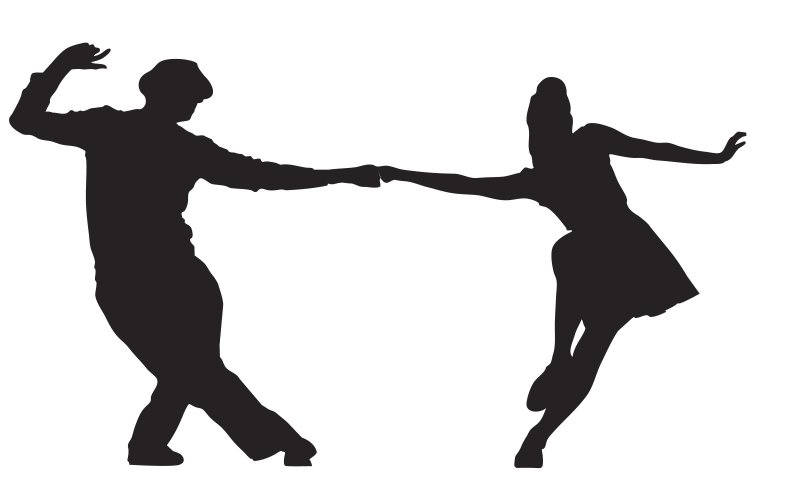 Image result for swing dancing silhouette