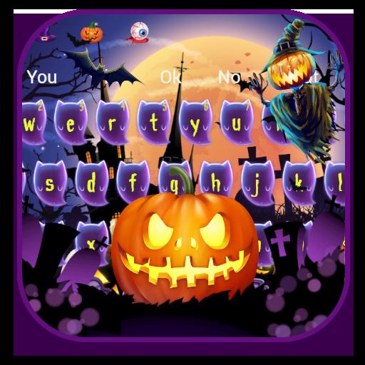 Halloween Pumpkin Keyboard