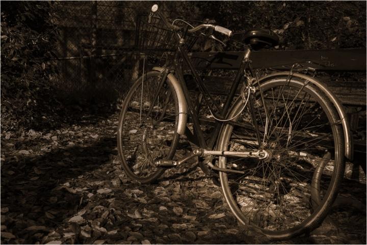 Old Bike di Blank