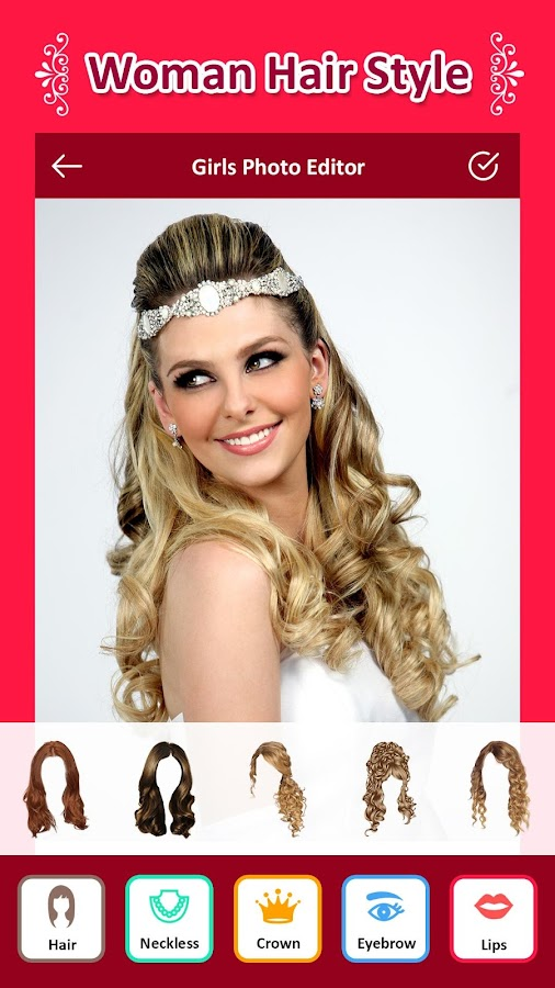 Hairstyle Changer App For Girls Android Apps On Google Play - Hairstyle edit app