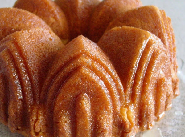 Golden Rum Cake Recipe