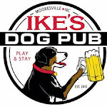 Logo for Ike's One Year Anniversay Party