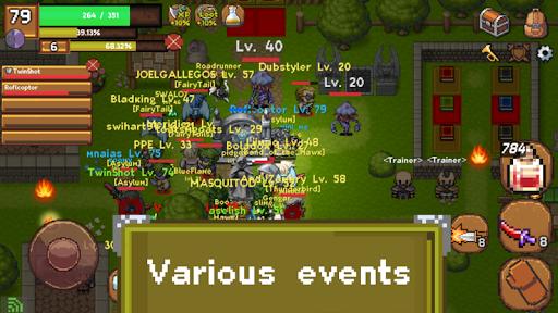 Sword of Legacy - MMORPG 2D 0.2.7 screenshots 2