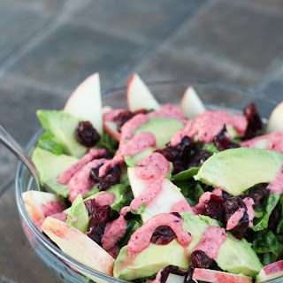 Cranberry Apple Avocado Salad