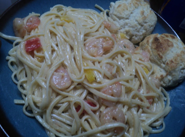 Peppy Shrimp & Pepper Pasta Recipe