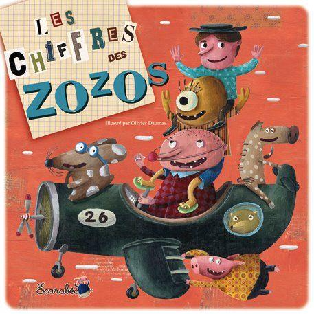 Les chiffres des Zozos, sélection d'Agnès,