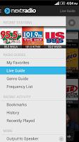 Screenshot of NextRadio - Free FM Radio