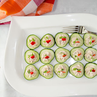 Sliced Cucumber Appetizers Recipes