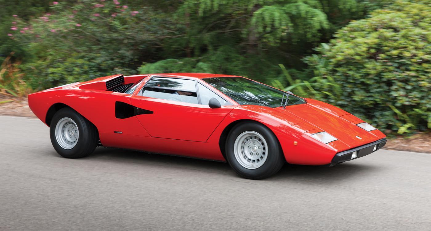 Lamborghini Countach LP400 |Viteza Maxima - 288 km/h