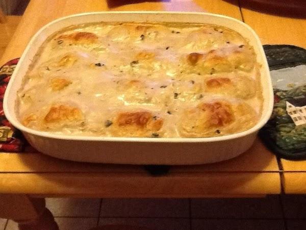 Chicken Cordon Blue Cassarole Recipe