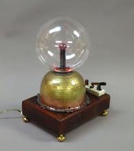 Photo: Plasma Ball - steampunk