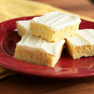 Cornbread Sugar Cookie Squares with Honey Butter Frosting