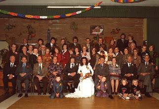 Photo: 9-12-1977 Jan en Dicky vd Plas v Wingerden en familie