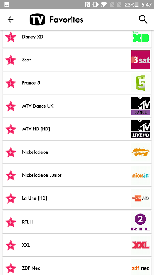 tv france liste tv gratuite applications android sur google play. Black Bedroom Furniture Sets. Home Design Ideas