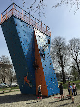Photo: Lezení a bouldrování v Lezeckém centru Tendom Blok v Ostravě-Vítkovicích (pondělí 4. duben 2016).