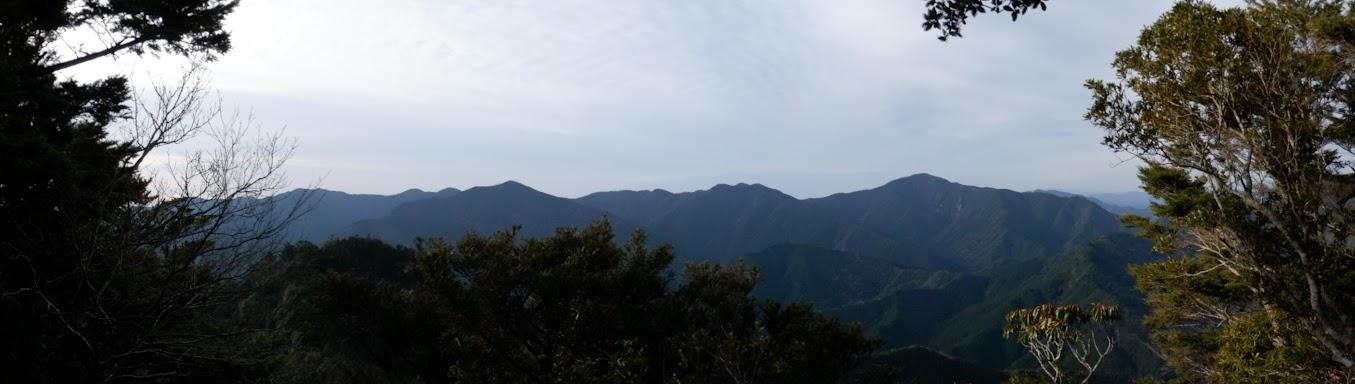 神出ノ峰からパノラマ