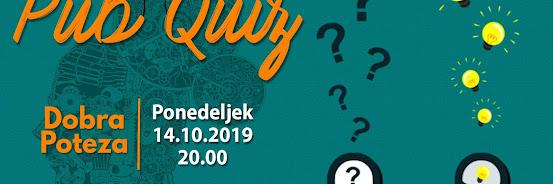Pub Quiz - 14.10.2019