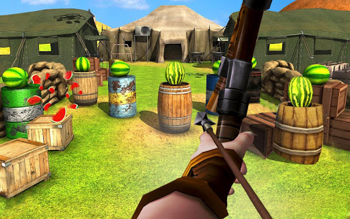 Watermelon Archery Shooting : Fruit Shoot Archery 2.5 screenshots 1