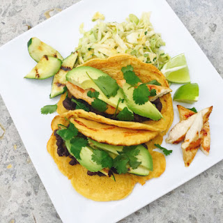 Grilled Zucchini Socca Tacos