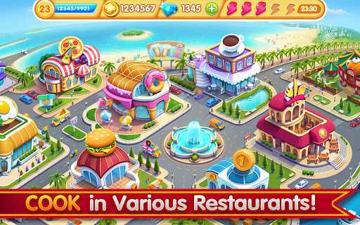 Cooking City: frenzy chef restaurant cooking games 1.82.5017 screenshots 21