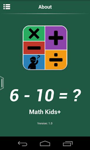 Learning Math - Kids Math Pro