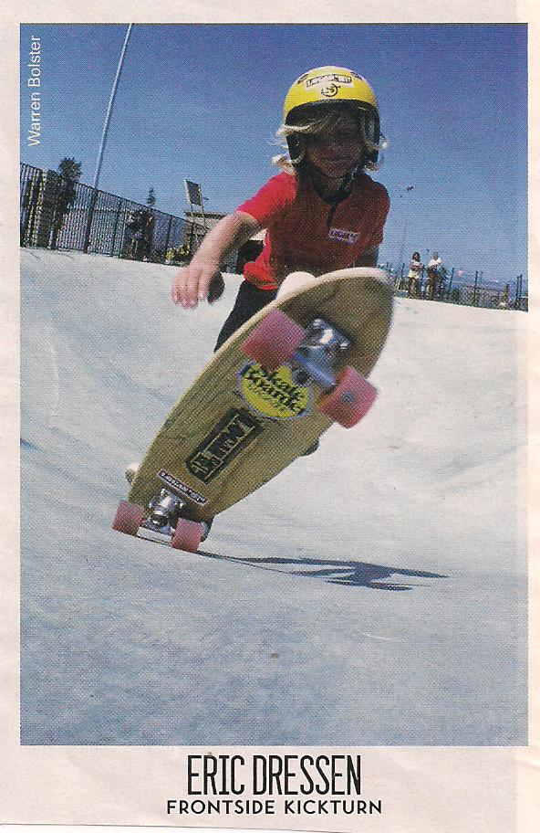 Photo: A very young Eric Dressen at Carlsbad Skate Park