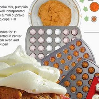 Mini Pumpkin Spice Cupcakes Recipe