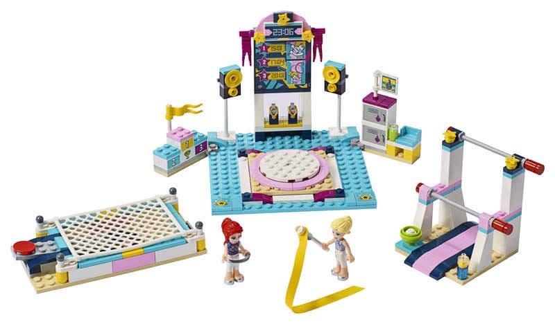 Contenido de Lego® 41372 Exhibición de Gimnasia de Stephanie