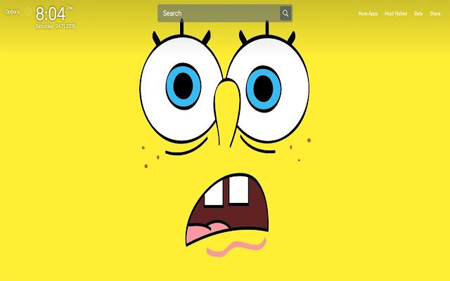 Sponge Bob Wallpapers NewTab Theme