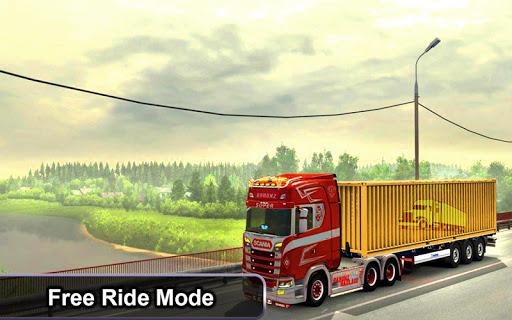 Indian Truck Offroad Cargo Drive Simulator 2 apkdebit screenshots 4