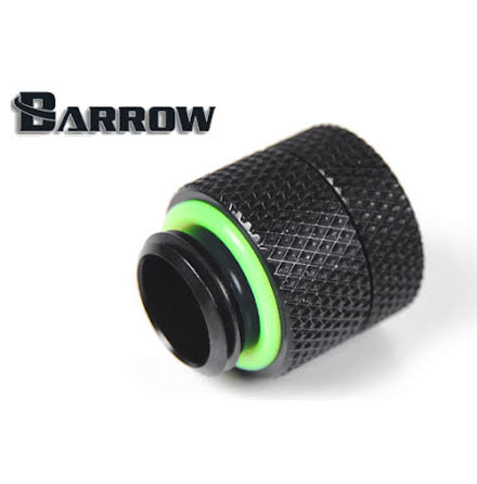 "Barrow han/hun roterende forlenger, 15 mm, 1/4""BSP, Black"