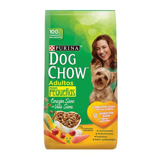 alimento para mascotas dog chow adulto raza pequena 2kg