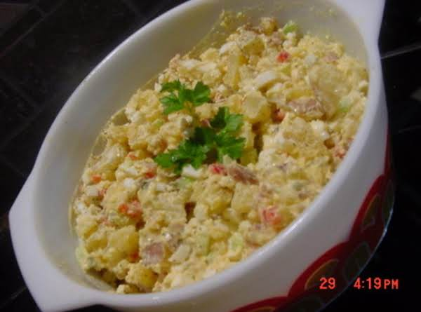 Bonnie's Mexican Potato Salad Recipe