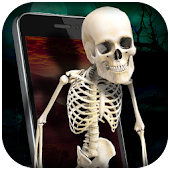 Skeleton in Phone Prank