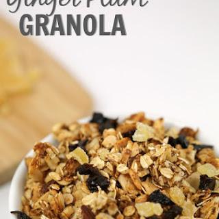 Ginger Plum Granola
