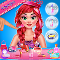 Fashion doll makeup salon: Makeup games for girls icon