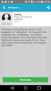 Kinetic Cycling- screenshot thumbnail