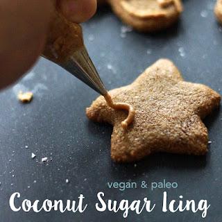 Coconut Sugar Icing (Vegan & Paleo).