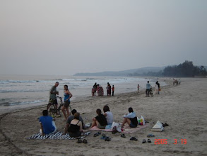Photo: Kashid Beach from Sarve Huts End