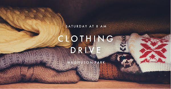 Clothing Drive - Facebook Event Cover Template