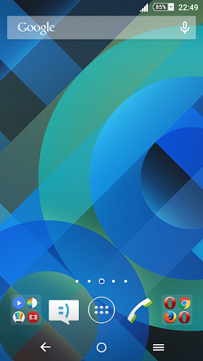 Pattern Blue Xperien Theme