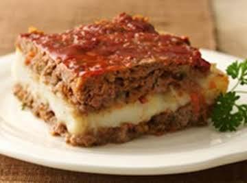 Meat Loaf Squares Recipe (Gluten Free) Recipe