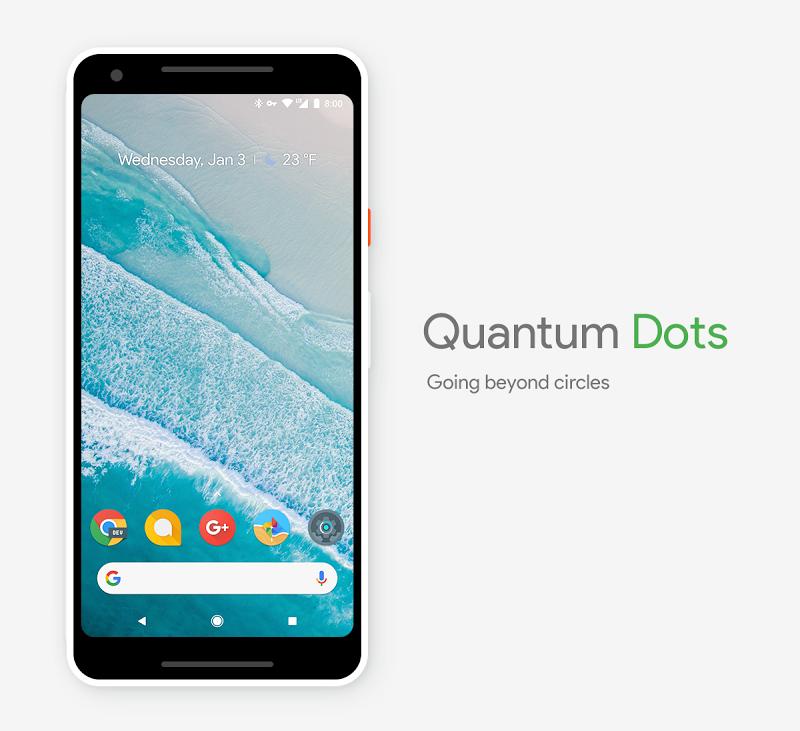 Quantum Dots - Icon Pack Screenshot