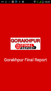 Gorakhpur Final Report- screenshot thumbnail