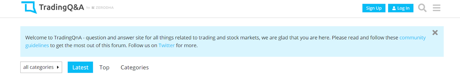Trading Q&A