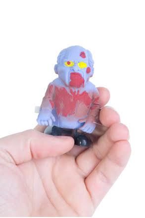 Walking zombie, blå